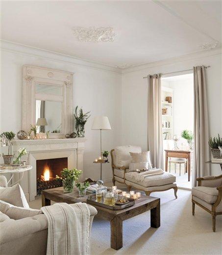 Cuatro salones peque os pero perfectos - El mueble salones pequenos ...