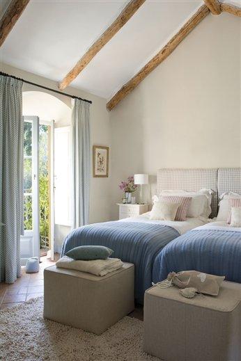 El azul, estrella del dormitorio infantil