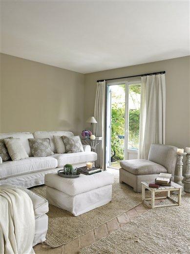 Cambia El Color De Tu Casa - Salones-blanco-y-beige