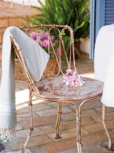 Una casa con encanto r stico - Mercadillo de muebles ...