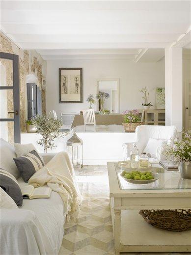 Una casa con encanto r stico - Casas decoradas con encanto ...