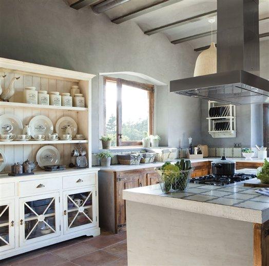 Pasi n provenzal en la cocina for Muebles provenzales ikea
