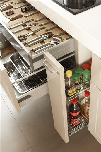 Secretos para ordenar la cocina - Hacer un mueble a medida ...