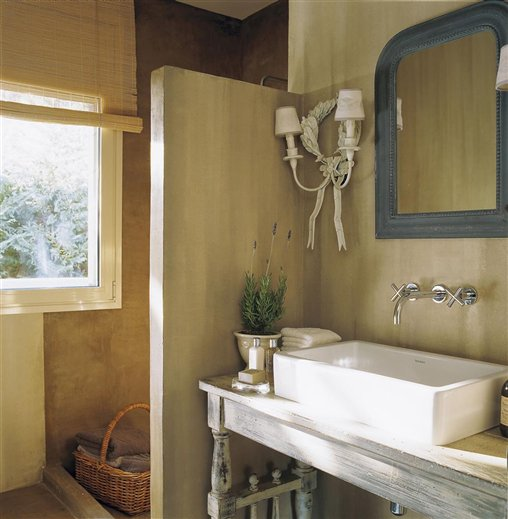 Patina Farm Bathroom Design Velvet Linen