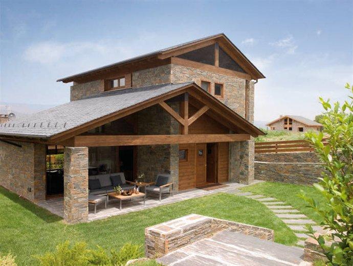 Una casa que respira los materiales m s sanos - Que ver en la casa de campo ...