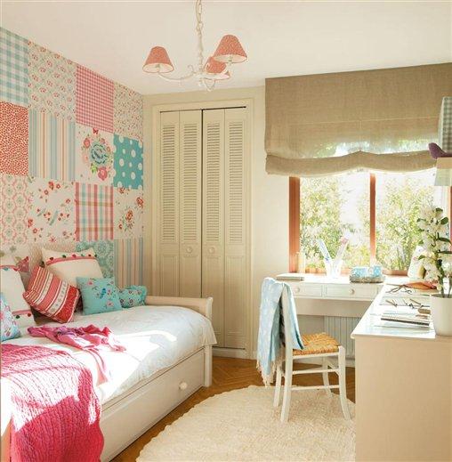 quiero que mi dormitorio sea rosa