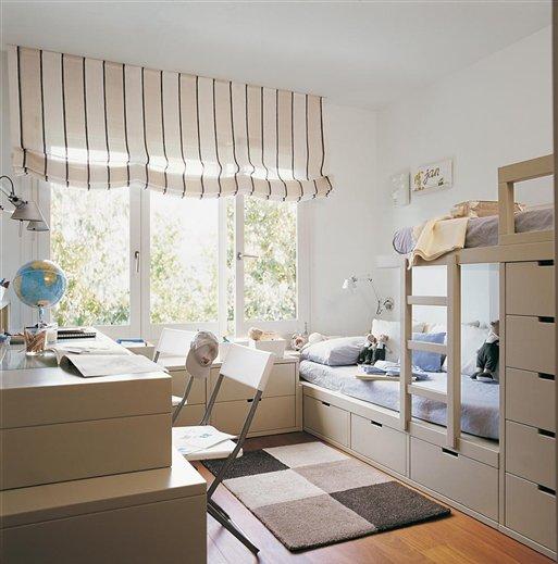 Claves para organizar el cuarto de los ni os - Vtv muebles infantiles ...
