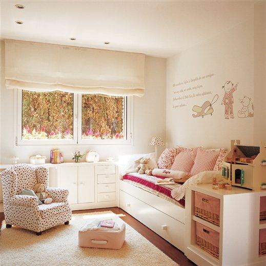 Claves para organizar el cuarto de los ni os - Cojines para dormitorios juveniles ...