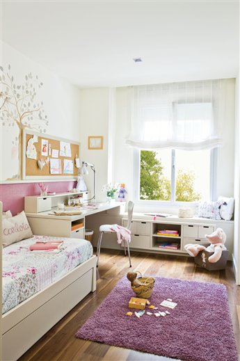 Claves para organizar el cuarto de los ni os - Organizar habitacion infantil ...