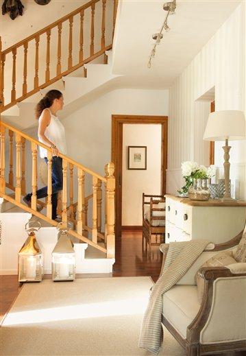 Zonas de paso tiles casa diez recibidores - Casa diez recibidores ...