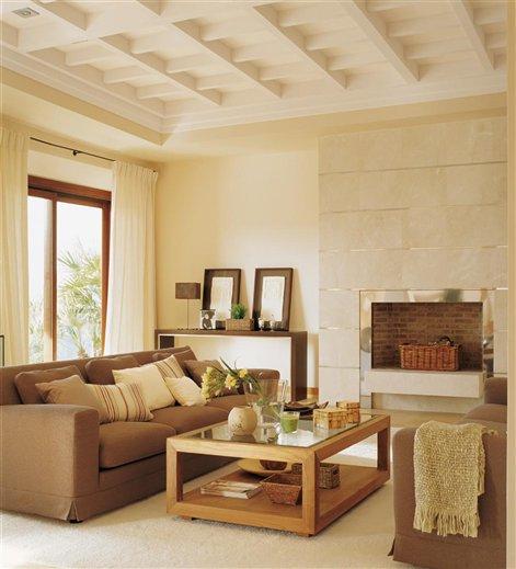 Pintura de sala marron v rias id ias de - Colores de pintura para salones ...