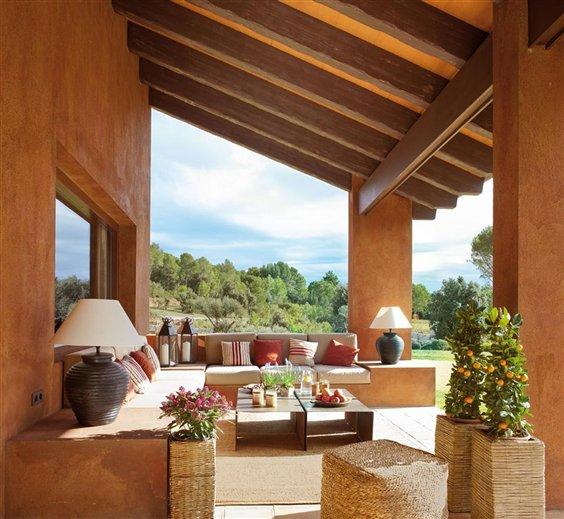 Porches y terrazas naturalmente bonitos - Casa al dia decoracion ...