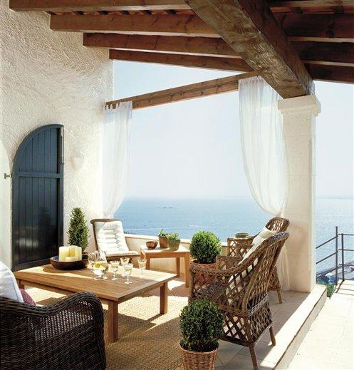Porches y terrazas naturalmente bonitos for El mueble especial terrazas