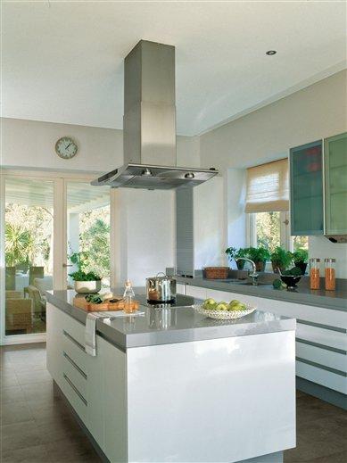 Dise ar bien la cocina base de la casa saludable - Gelse cocinas ...