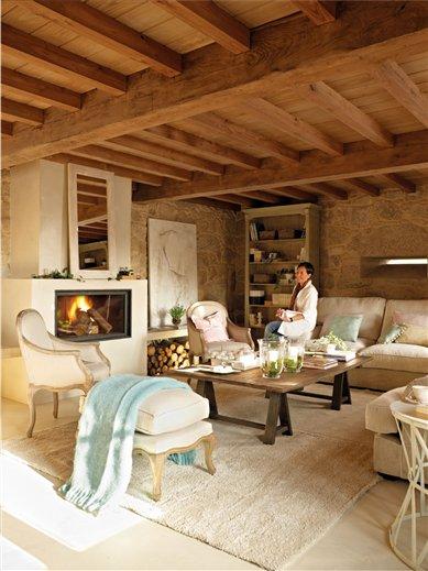 Una casa r stica mezcla de tradici n y modernidad - Ideas para casas rurales ...