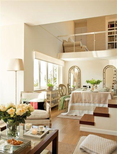 El nuevo sal n comedor de rebeca - El mueble salones pequenos ...