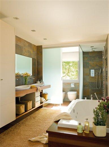 C mo convertir tu ba o en un spa - Convertir banera en ducha ...