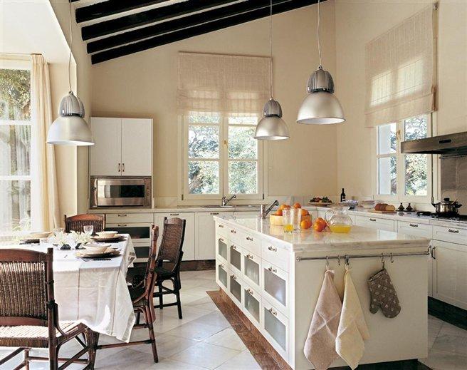 Modelos de cocinas con topes blaco dallas imagui - El mueble cocinas ...