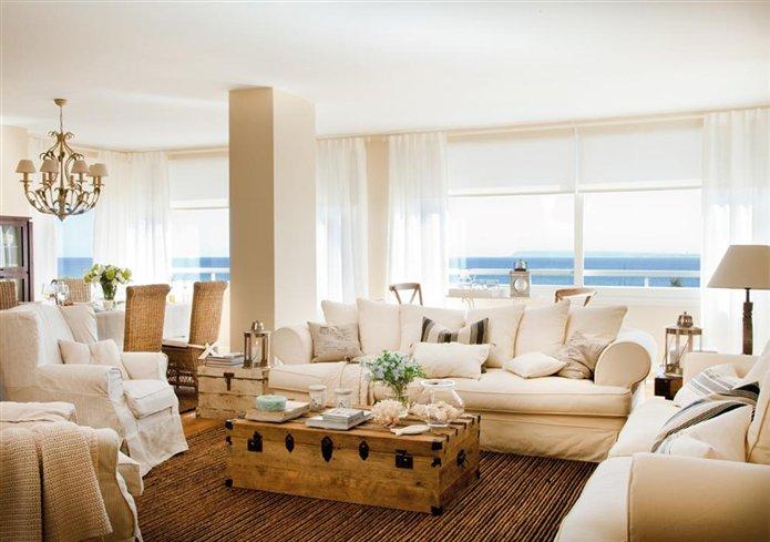 El sal n es m s acogedor y muy natural for Decoracion pisos acogedores