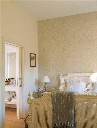Interiores que se funden con el jard n for Dormitorio invitados