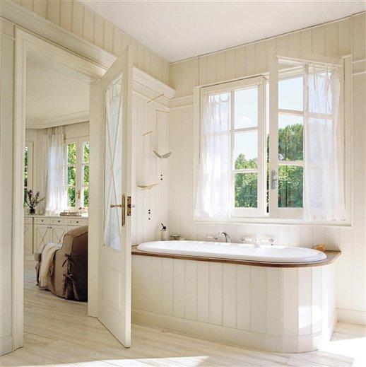 baño. Cómo conseguir que el baño tenga el máximo de luz