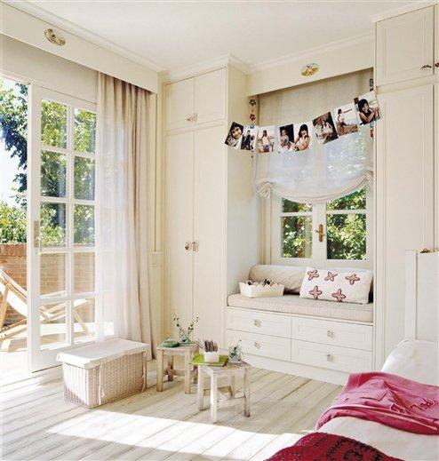 dormitorio infantil. El dormitorio de la peque