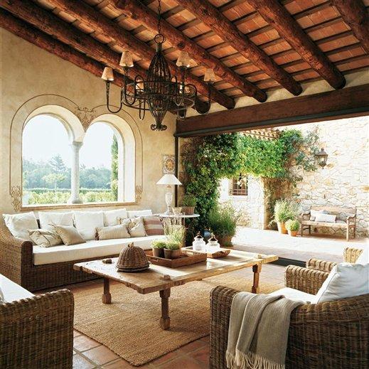 Restored 17th century farmhouse in spain inspiring interiors - Casas con terrazas ...