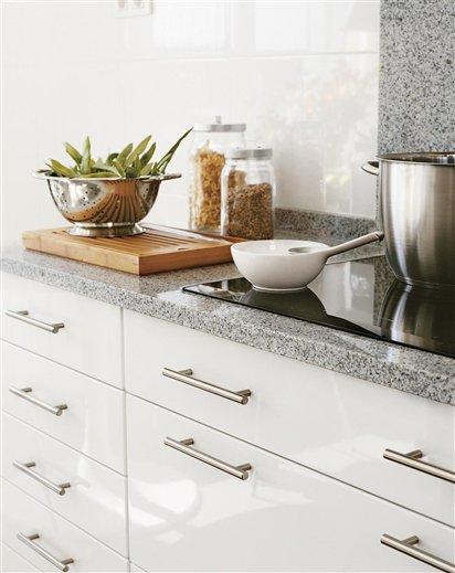 Granito ecol gico resistente y bello for Granito blanco para cocina