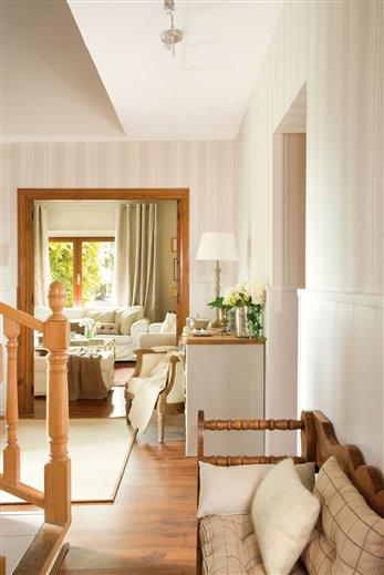 Gu a infalible para decorar el recibidor - Pintar un recibidor ...