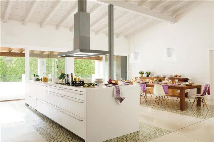 Los suelos m s resistentes para la cocina - Suelo hidraulico cocina ...