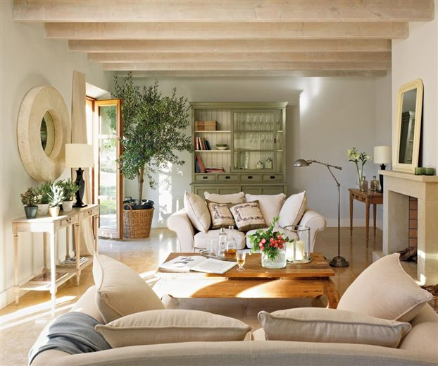 Country house in spain inspiring interiors - Dormitorios vintage chic ...