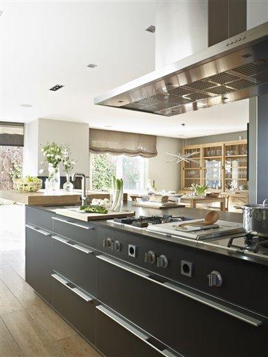 La cocina perfecta para una gran chef for Articulos de cocina para chef
