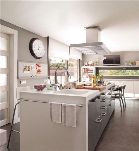 Cocinas con islas de marmol images for Cocinas en isla