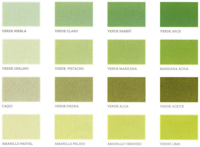 Colores Calidos Los Mas Acogedores - Tonos-verde