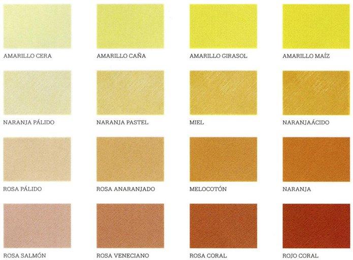 Colores c lidos los m s acogedores - Gama de colores calidos ...