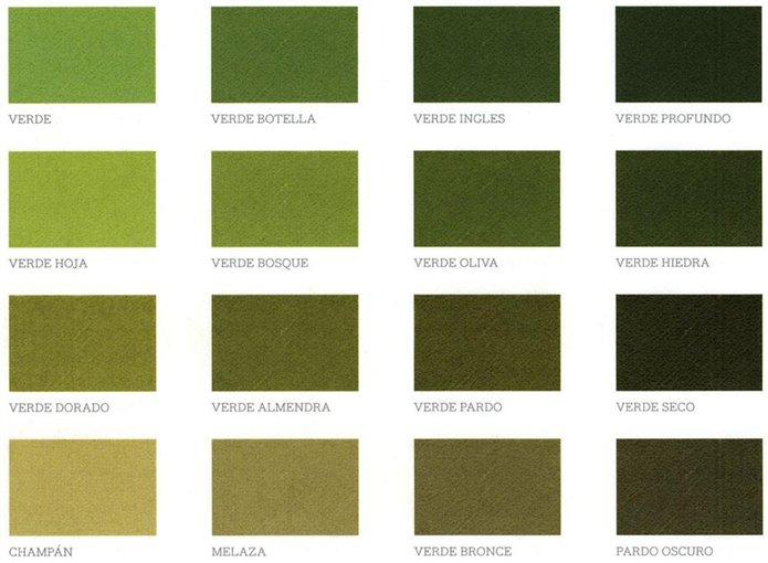 Paleta de colores para pared cheap colores para paredes verde azulado with paleta de colores - Paleta de colores pared ...