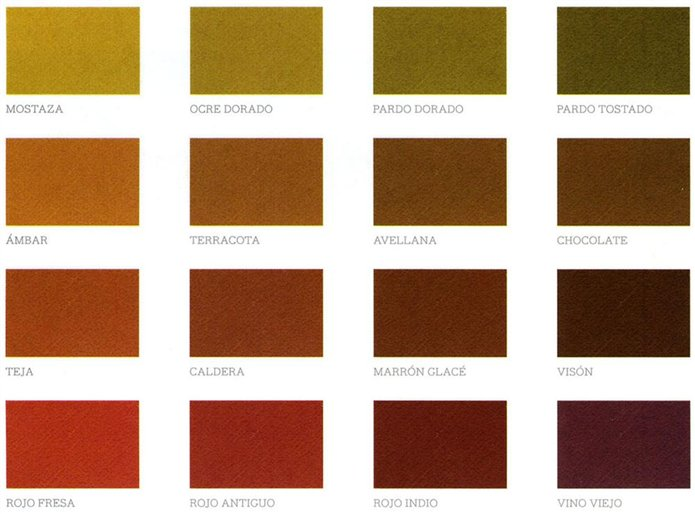 Colores c lidos los m s acogedores - Color ocre paredes ...