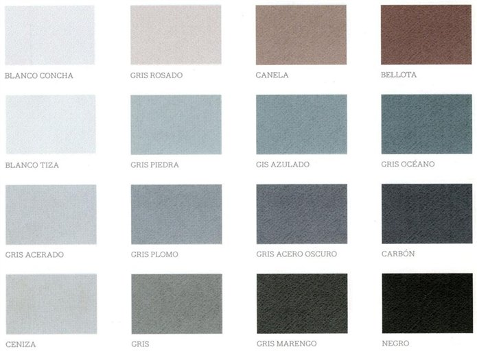 Colores neutros luminosos y serenos for Casas pintadas en tonos grises