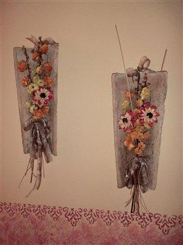 Tejas r sticas tus manualidades - Como decorar tejas rusticas ...