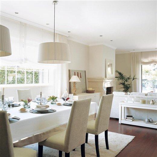 Ilumina bien tu casa y parecer m s grande - Lamparas para salon comedor ...