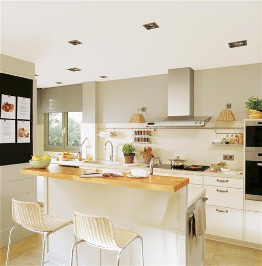 Stebbing house desing cocinas con barra for Mobiliario cocina