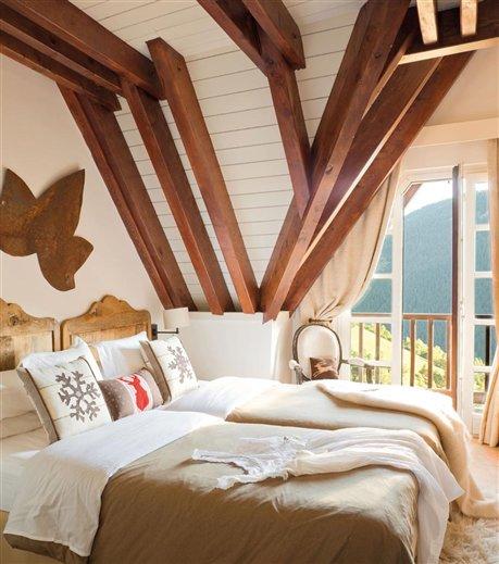 Blog on pinterest for Dormitorios matrimoniales rusticos