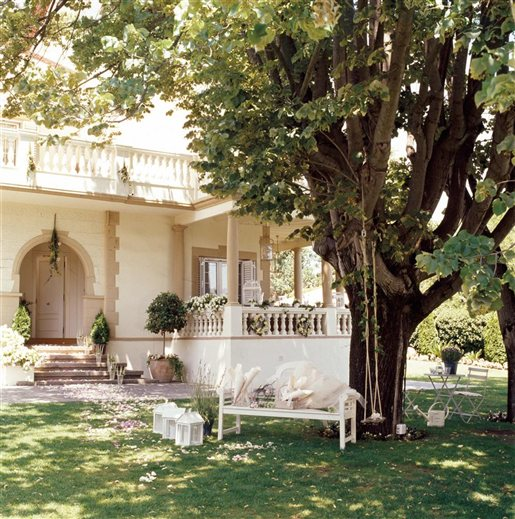 Shabby and charme una casa tutta bianca e beige - El mueble jardines ...