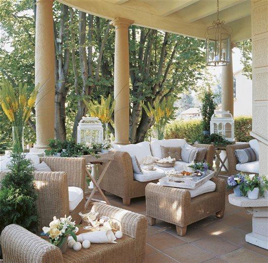 La casa de la novia decorada para el gran d a for El mueble especial terrazas