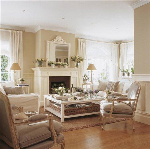 Shabby and charme una casa tutta bianca e beige for Arredare casa bianco e beige