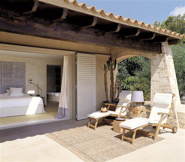 Dormitorio principal, con salida al jardín