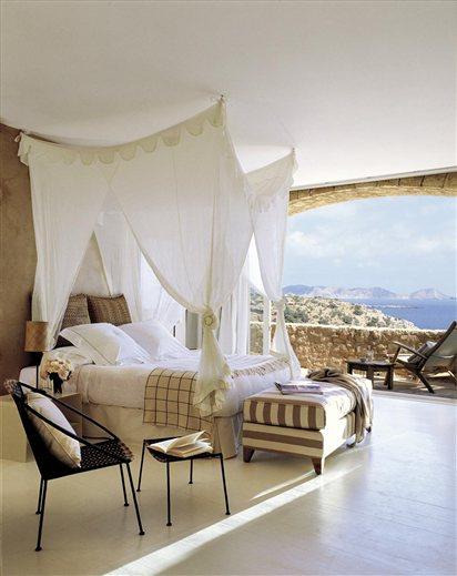 Espectacular dormitorio con vistas