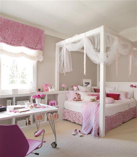Dormitorio ni a imagui - Dosel cama nina ...