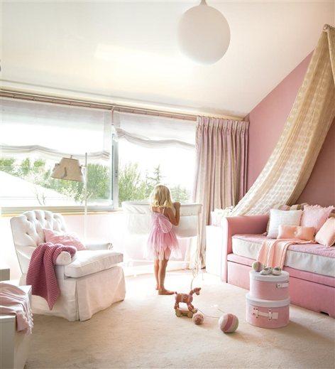 Blancas ideas escalera for Dormitorio nina