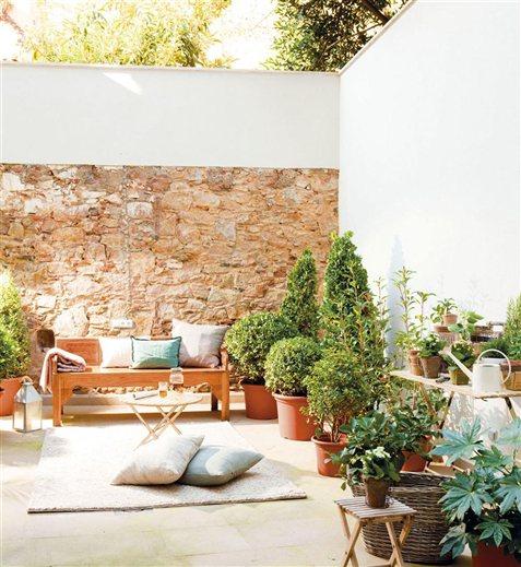 Un d plex con patio muy particular - Jardines en terrazas pequenas ...